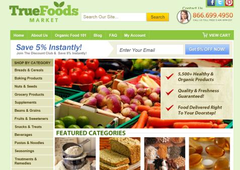 online organic store2
