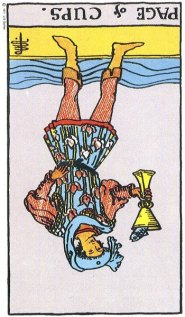page of cups reversed